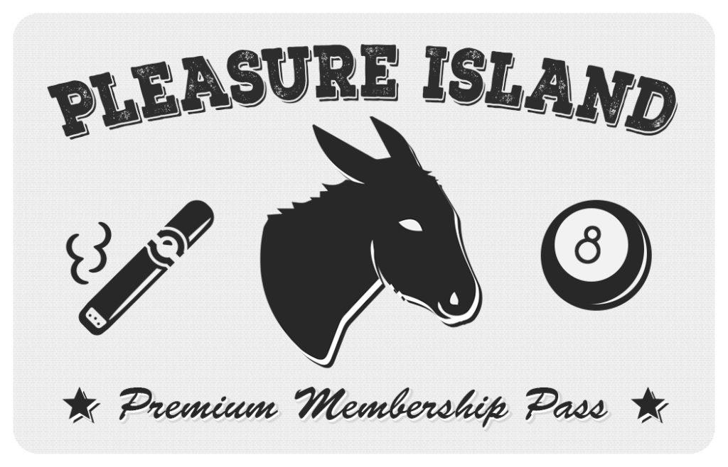 Premium Membership Pass Example - Front