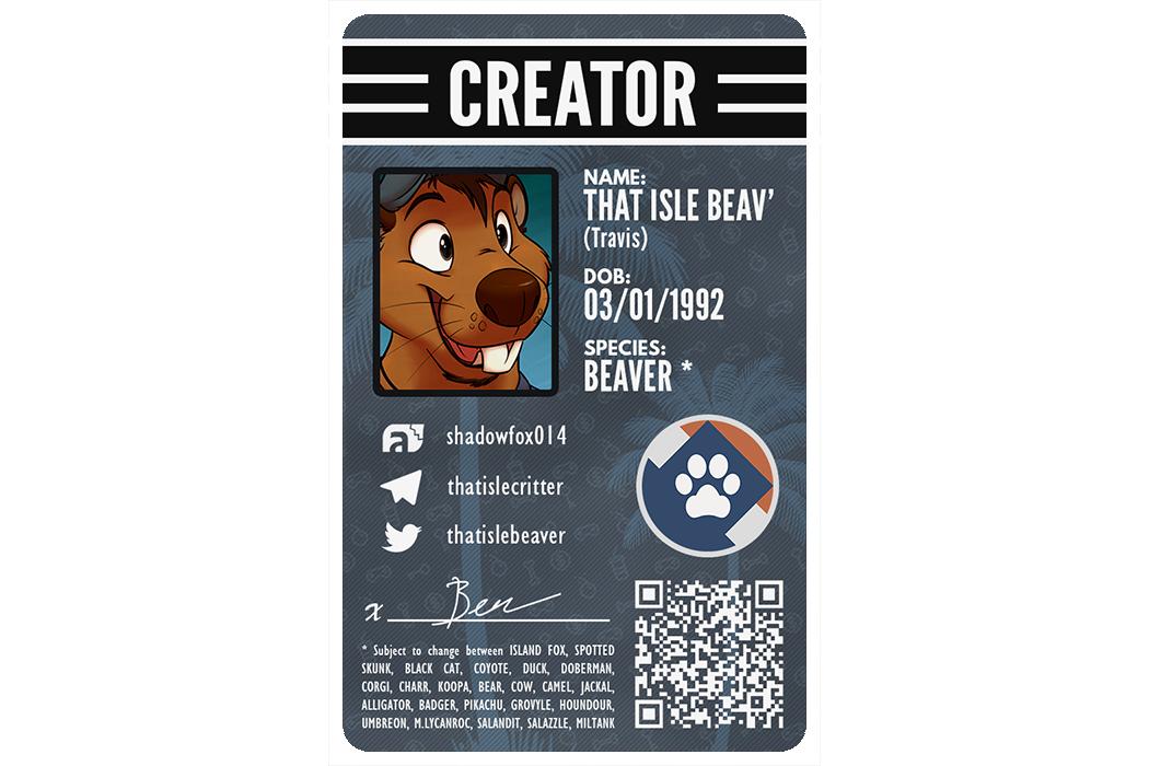 Furry ID Example - Isle