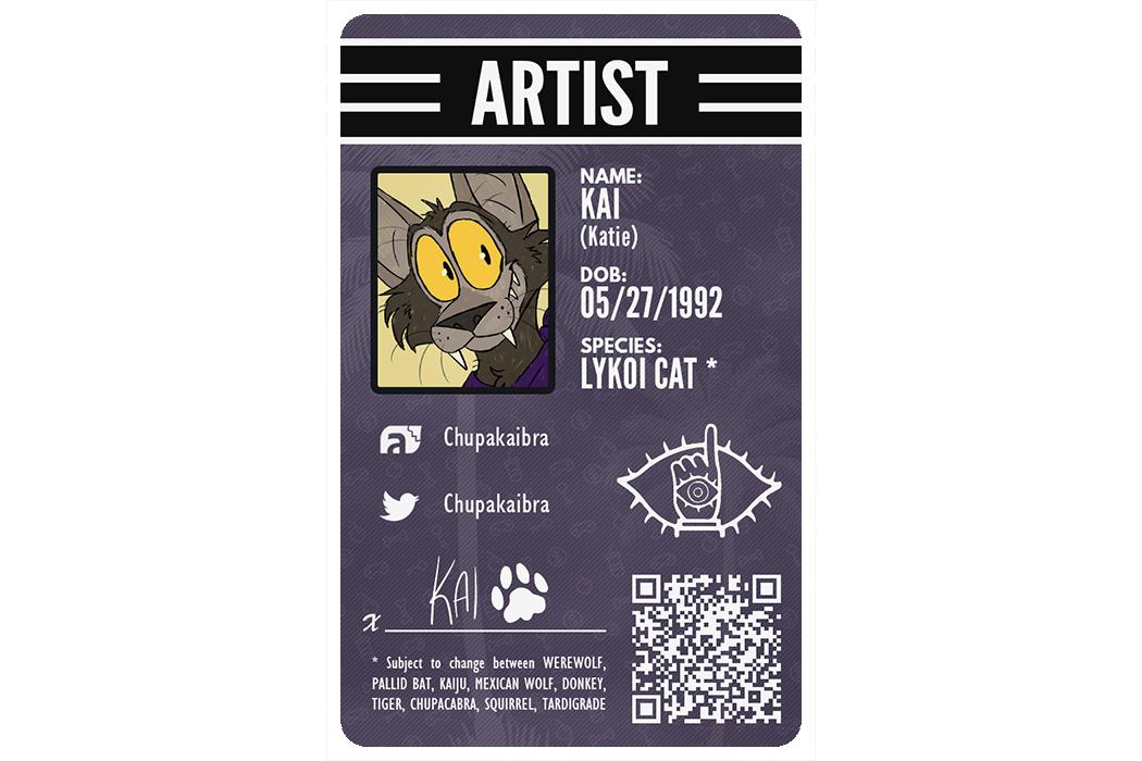 Furry ID Example - Kai