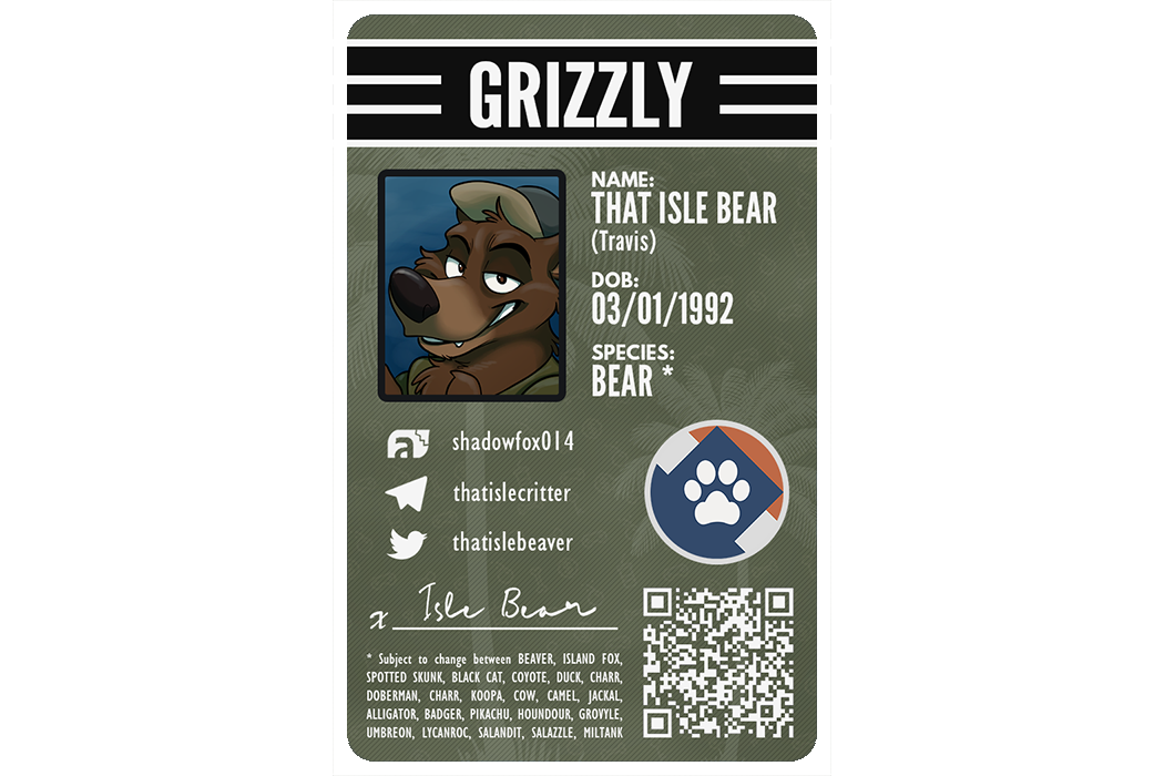 Furry ID Example - Bear