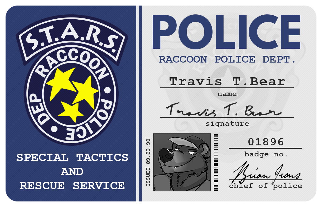 S.T.A.R.S ID - Front